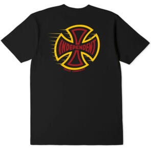 INDEPENDENT T/C SPEED YOUTH TEE BLACK