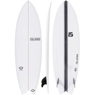 ISLAND 2019 MODERN TWIN FISH WHITE