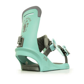 FIX BINDING CO 2021 WOMENS JANUARY BINDINGS TEAL