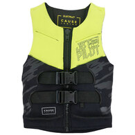 JETPILOT YOUTH THE CAUSE NEO VEST YELLOW 8-10 (22-40KG)