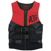 JETPILOT 2019 YOUTH THE CAUSE F/E KIDS NEO VEST RED 8-10 (22-40KG)