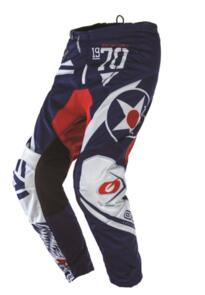 ONEAL 2021 ELEMENT WARHAWK PANTS - BLUE/RED