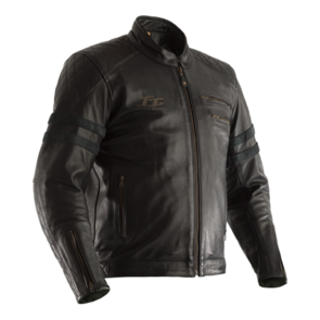 RST IOM TT HILLBERRY CE LEATHER JACKET [BLACK]