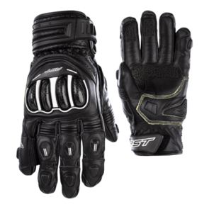 RST TRACTECH EVO SHORT CE LEATHER GLOVE [BLACK]