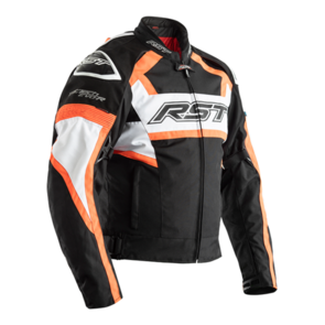 RST TRACTECH EVO R CE TEXTILE JACKET [FLO RED]