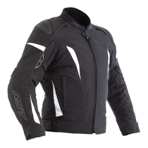 RST GT CE TEXTILE JACKET [BLACK/WHITE]
