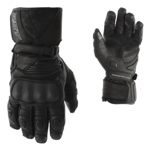 RST GT CE LEATHER WATERPROOF GLOVE [BLACK]