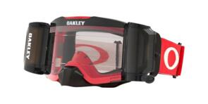 OAKLEY FRONT LINE - RACE READY - TUFF BLOCKS RED/GREY MX GOGGLES WITH PRIZM
