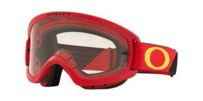 OAKLEY O FRAME 2.0 PRO XS - B1B RED/YELLOW MX GOGGLES WITH CLEAR LENS