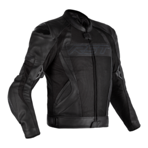 RST TRACTECH EVO 4 MESH CE LEATHER JACKET [BLACK]