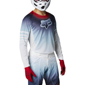 FOX RACING 2021 AIRLINE REEPZ JERSEY [WHITE/RED/BLUE]