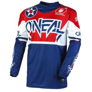 ONEAL 2021 YOUTH ELEMENT WARHAWK JERSEY - BLUE/RED