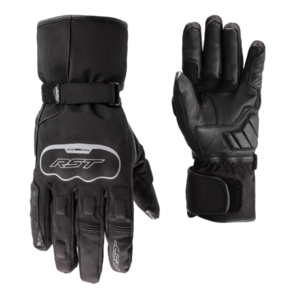 RST AXIOM CE LEATHER WP GLOVE [BLACK]