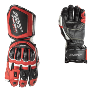 RST TRACTECH EVO CE LEATHER GLOVE [BLACK/RED]