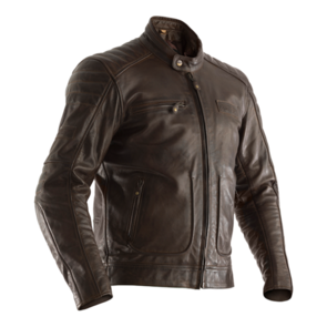 RST ROADSTER 2 CE LEATHER JACKET [BROWN]