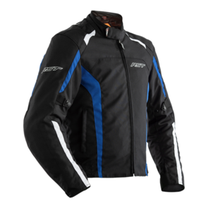 RST RIDER CE TEXTILE JACKET [BLACK/BLUE]