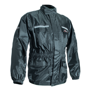 RST WATERPROOF RAIN JACKET  [BLACK]