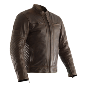 RST TT RETRO 2 CE LEATHER JACKET [BROWN]