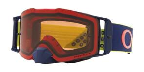 OAKLEY FRONT LINE - B1B RED/YELLOW MX GOGGLES WITH PRIZM BRONZE LENS