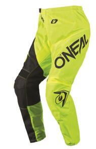 ONEAL 2021 ELEMENT RACEWEAR PANTS - BLACK/NEON YELLOW (ADULT)