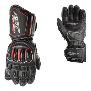RST TRACTECH EVO CE LEATHER GLOVE [BLACK]
