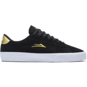 LAKAI NEWPORT BLACK/GOLD SUEDE