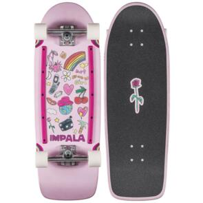 IMPALA SIDEWALK SKATES LATIS CRUSIER ART BABY GIRL 31