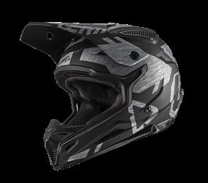 LEATT MOTO LEATT 2020 GPX 4.5 V20.1 HELMET (BLACK/BRUSHED)