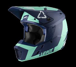LEATT MOTO LEATT 2020 GPX 3.5 V20.2 HELMET (JUNIOR AQUA/BLUE)