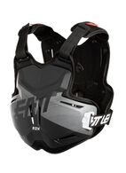 LEATT 2019 2.5 CHEST PROTECTOR ROX (BLACK/BRUSHED)