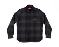 LEATT 2019 CORE SHIRT (BLACK/PLAID)