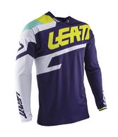 LEATT MOTO 2020 GPX 4.5 LITE JERSEY (BLUE/WHITE/AQUA)
