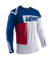 LEATT MOTO 2020 GPX 4.5 LITE JERSEY (ROYAL/WHITE/RED)