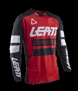 LEATT MOTO LEATT 2020 GPX 4.5 X-FLOW JERSEY (RED/WHITE/BLACK)
