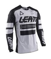 LEATT MOTO 2020 GPX 4.5 X-FLOW JERSEY (WHITE/BLACK)