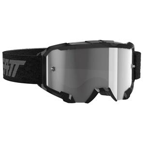 LEATT MOTO LEATT 4.5 VELOCITY GOGGLE (LIGHT GREY LENS) - BLACK
