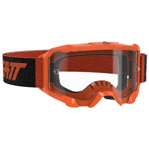 LEATT MOTO LEATT 4.5 VELOCITY GOGGLE (CLEAR LENS) - NEON ORANGE