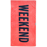 LEUS TOWEL WEEKEND PINK