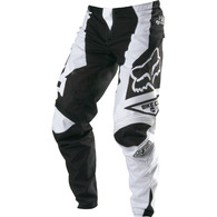 FOX RACING DEMO PANTS [BLACK/WHITE]