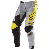 FOX DEMO PANTS [GREY/YELLOW]