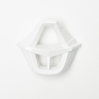 FOX RACING V1 MOUTHPIECE ASSEMBLY [WHITE]