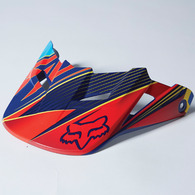 FOX RACING V1 RADEON HELMET VISOR 2014 [BLUE]
