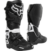 FOX RACING INSTINCT BOOTS 2.0 [BLACK/WHITE]