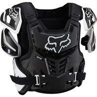 FOX RACING RAPTOR VEST [BLACK/WHITE]