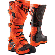 FOX RACING YOUTH COMP BOOTS [ORANGE]