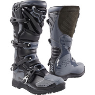 FOX RACING COMP OFFROAD BOOTS [BLACK/GREY]