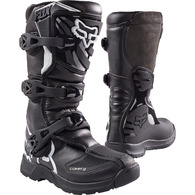 FOX RACING YOUTH COMP 3 BOOT [BLACK] 1
