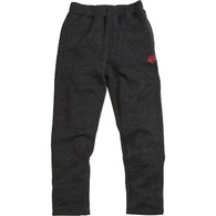 FOX RACING YOUTH SWISHA FLEECE PANT [HEATHER BLACK]