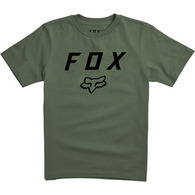 FOX YOUTH LEGACY MOTH SS TEE [FATIGUE GREEN]