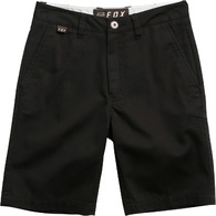 FOX RACING YOUTH ESSEX SHORT [BLACK]
